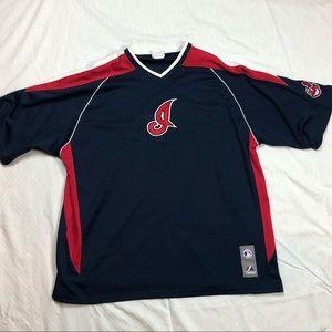 '90s Majestic Cleveland Indians Jersey Shirt